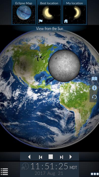 Solar Eclipse by Redshift screenshot 5