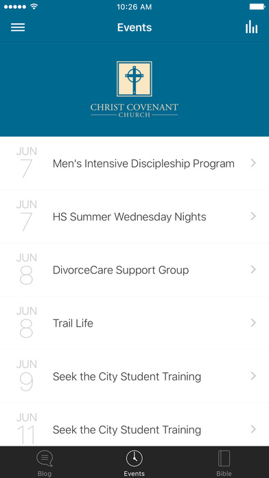 Christ Covenant Church screenshot 2