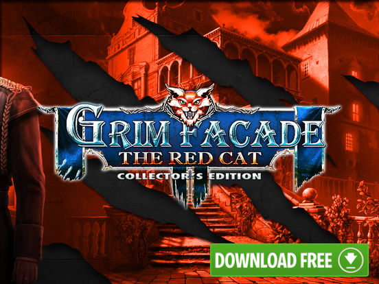 Grim Facade: The Red Cat - Hidden Objects screenshot 10