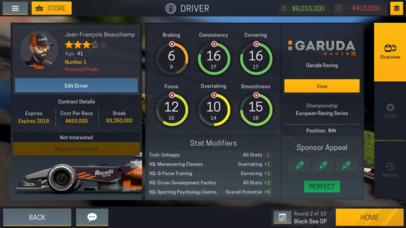 Motorsport Manager Mobile 2 screenshot 5