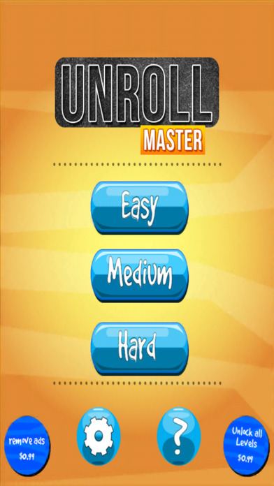 UnRoll Master screenshot 1