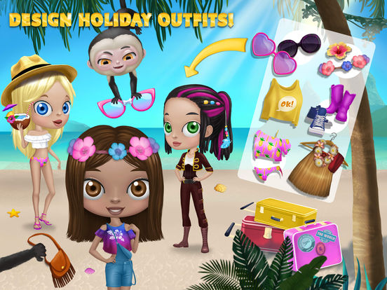 BFF World Trip Hawaii - No Ads screenshot 8