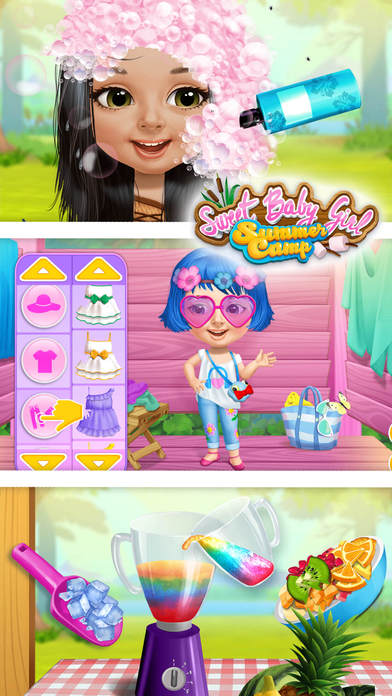 Sweet Baby Girl Summer Camp - No Ads screenshot 5