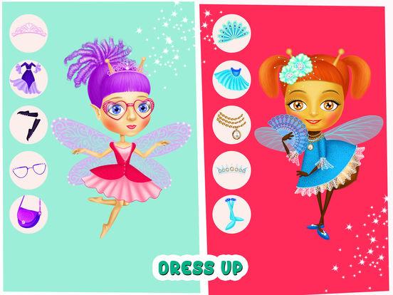 Fairyland 4 Meadow Princess - Makeup & Hair Salon screenshot 9