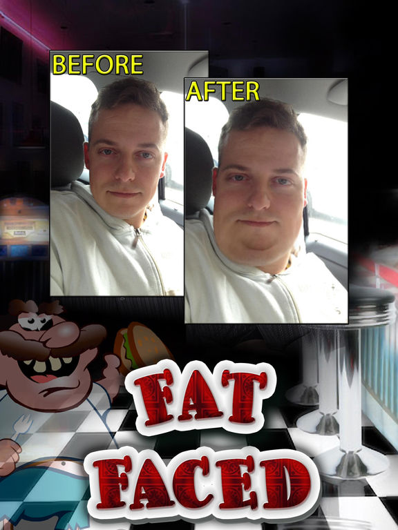 Fat Face Changing Photo Booth Pro screenshot 5