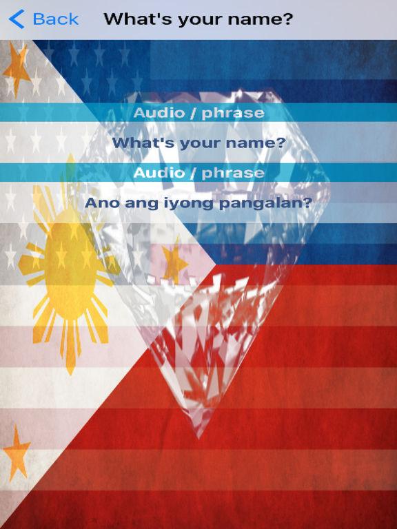 Filipino Phrases Diamond 4K Edition screenshot 6