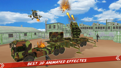 Helicopter Defence Strike - 3d Anti Aircraft Games screenshot 2
