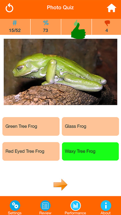 Animals : Reptiles Quiz screenshot 2