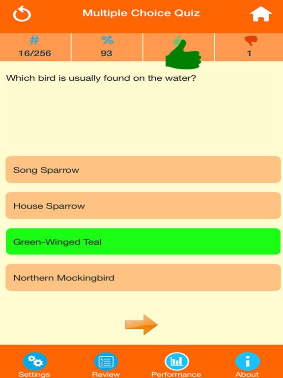 Animals : Wild Birds Quiz screenshot 9