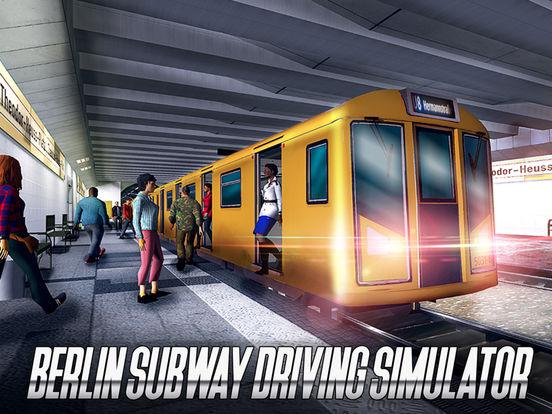Berlin Subway Driving Simulator screenshot 5