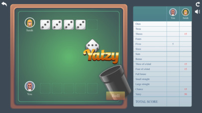 Yatzy ® screenshot 1