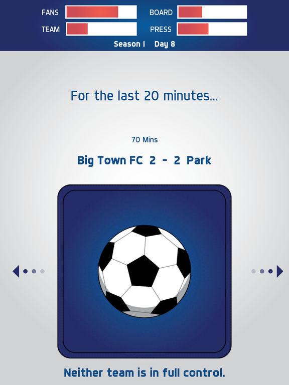 Swipe Manager: Soccer screenshot 7