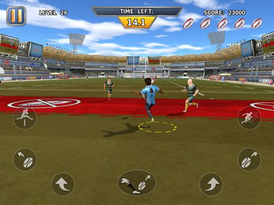 Rugby: Hard Runner screenshot 9