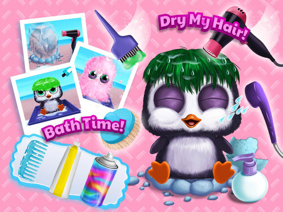 Baby Animal Hair Salon 3 - No Ads screenshot 10