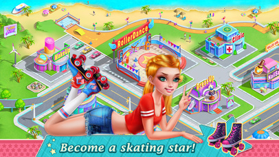 Roller Skating Girls screenshot 5