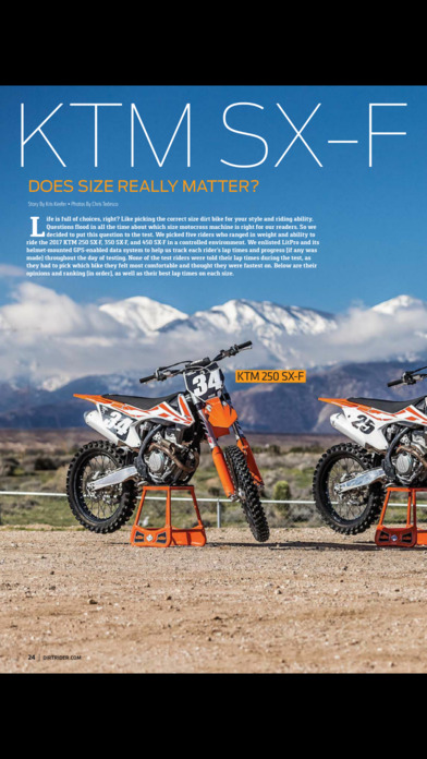 Dirt Rider Magazine screenshot 2
