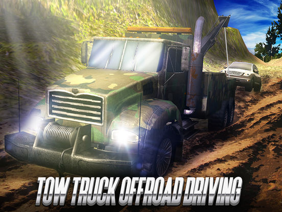 Tow Truck Offroad Driving Full screenshot 5