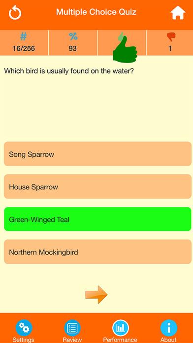 Animals : Wild Birds Quiz screenshot 4