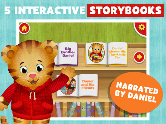 Daniel Tiger's Storybooks screenshot 6