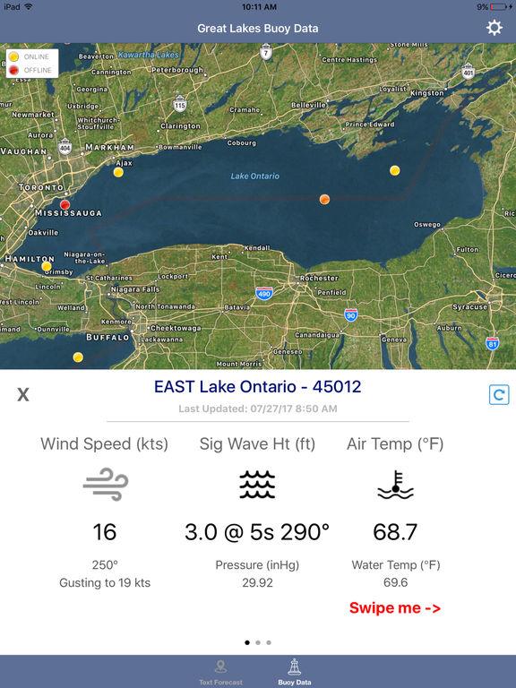 Lake Ontario Boating Weather screenshot 5