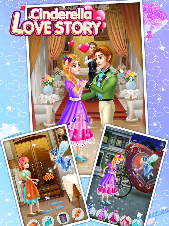 Cinderella Love Story - Fun Games screenshot 7