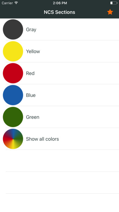 Ncs color chart. 3D fan deck screenshot 5