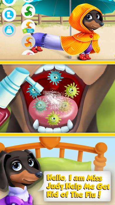 Farm Animals Hospital Doctor 3 - No Ads screenshot 5