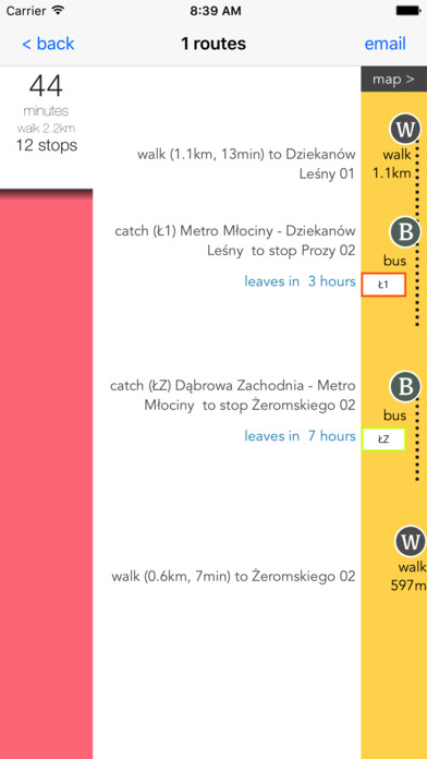 Warsaw Public Transport screenshot 3