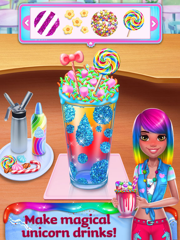 Unicorn Food Style Maker screenshot 8