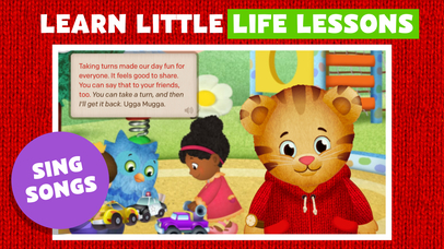 Daniel Tiger's Storybooks screenshot 5