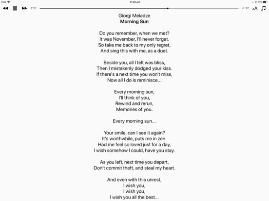 Lyrics View 3 screenshot 5