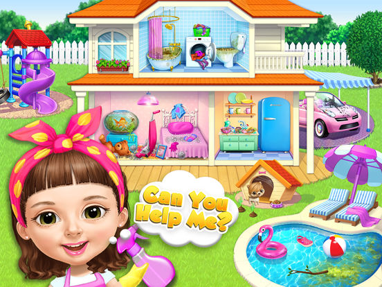 Sweet Baby Girl Cleanup 5 - No Ads screenshot 8