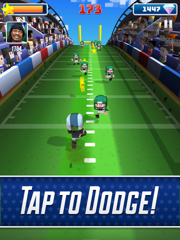 Marshawn Lynch Blocky Football screenshot 7