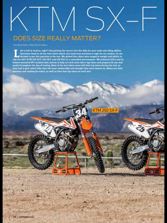Dirt Rider Magazine screenshot 7
