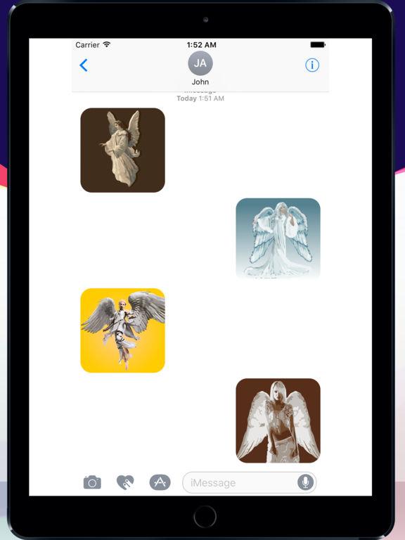 Angels sticker pack screenshot 4