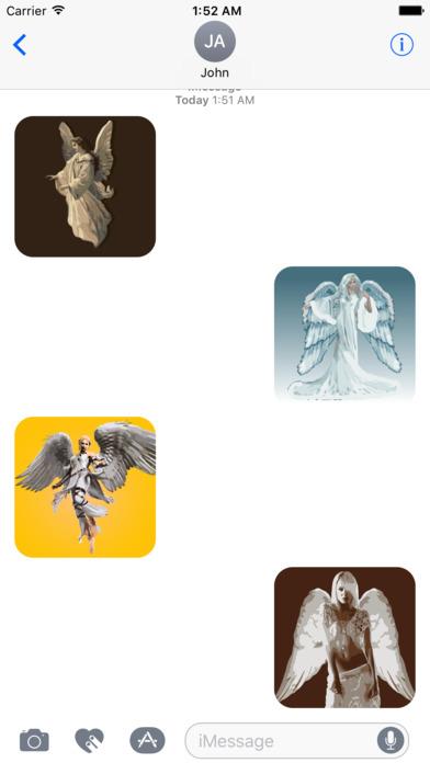 Angels sticker pack screenshot 2