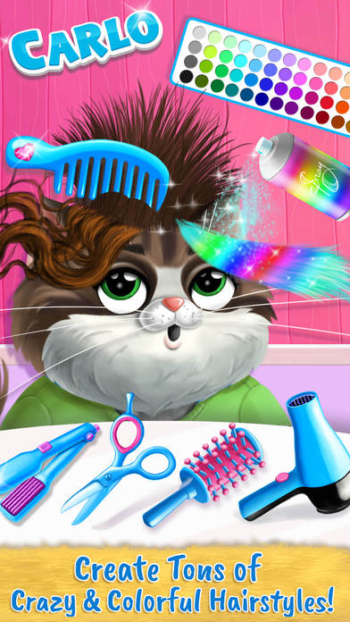 Farm Animals Makeover - Cute Virtual Pet Salon screenshot 3