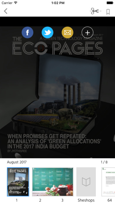 The Eco Pages screenshot 2