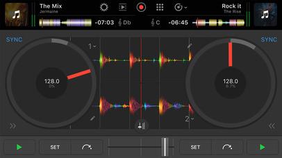 djay Pro for iPhone screenshot 1