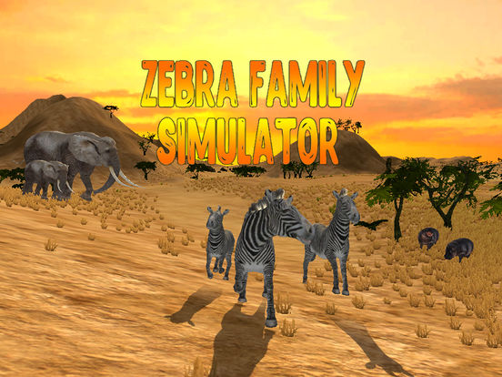 Zebra Family Simulator Full screenshot 5