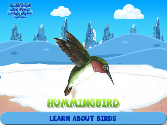 Christmas Kids Game Learn Birds Name | Apps | 148Apps
