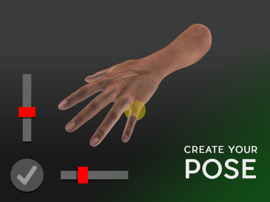 Hand Draw 3D Pose Tool screenshot 6