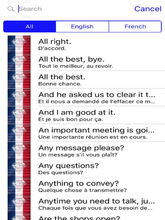French Phrases Offline screenshot 4