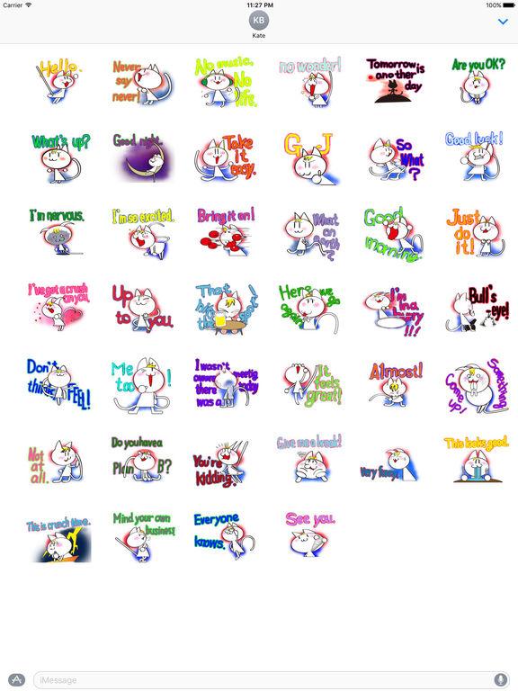 Talking Cat Sticker screenshot 4