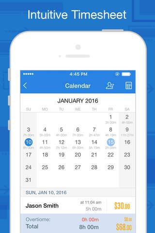 Hours Keeper Pro - Timesheet, Tracking & Billing - náhled