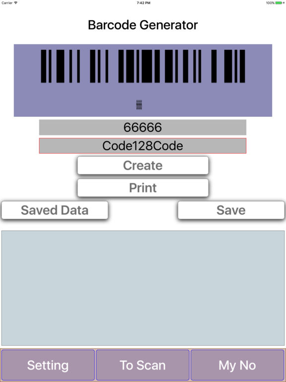 how to scan with iphone barcode generator on the app 2306