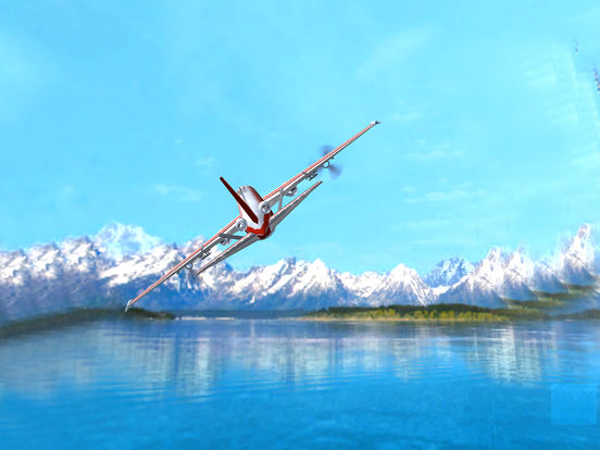 Airspin Aeroplane Adventure : Real Sky flight Sim screenshot 7