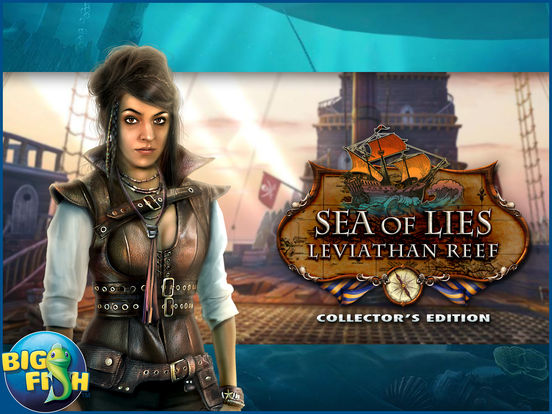 Sea of Lies: Leviathan Reef - Hidden Objects screenshot 10