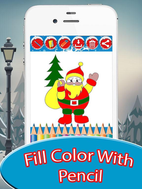 Christmas Drawing Pad screenshot 8