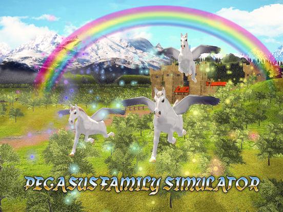 Pegasus Family Simulator Full screenshot 5